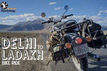 bike rental in delhi